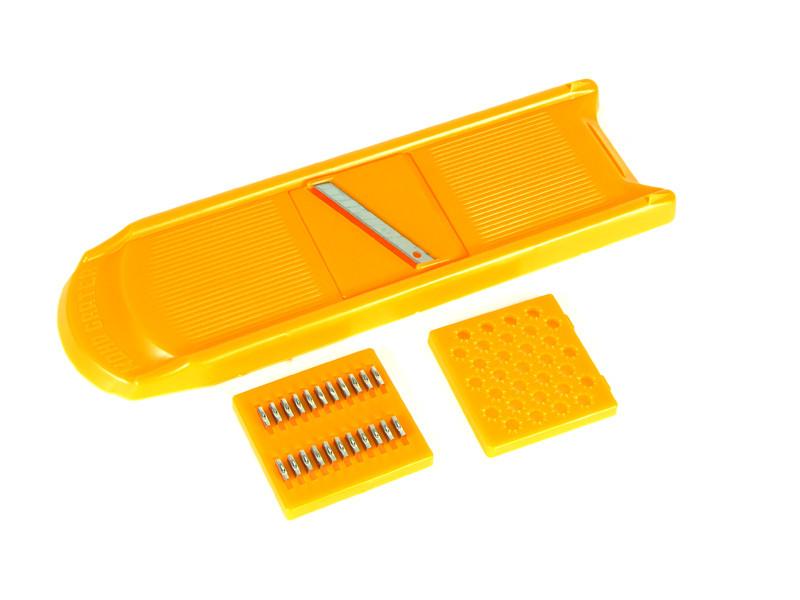 Тима Овощерезка Оранжевая Малая, 3 Ножа, Полистирол