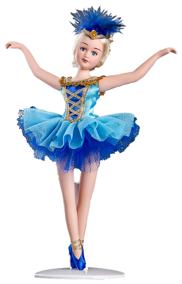 Купить Кукла коллекционная Sima-land Балерина в голубом 23 см, Куклы