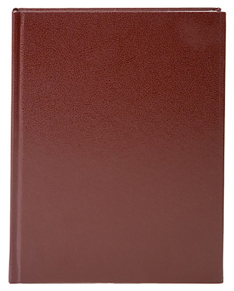 Ежедневник недатированный Lite «Classic», А5, 168 листов, коричневый