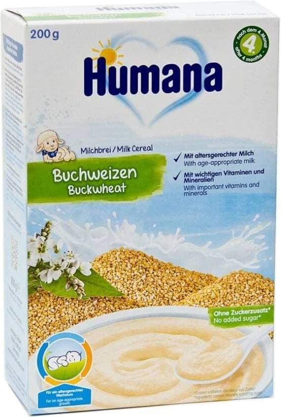 Каша молочная Humana Гречка с 4 мес. 200 г фото