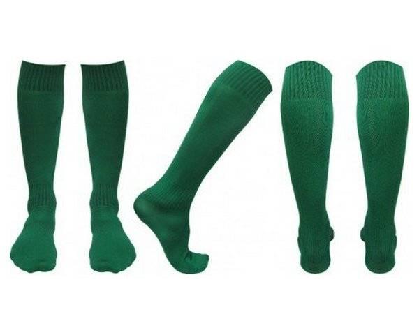 Гольфы футбольные С003 зеленые 43 45 RU