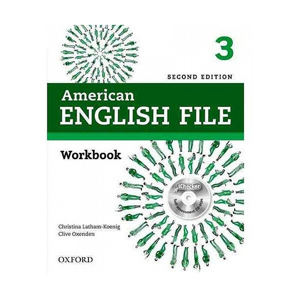 American English File Second Edition 3 Work Book: With iChecker