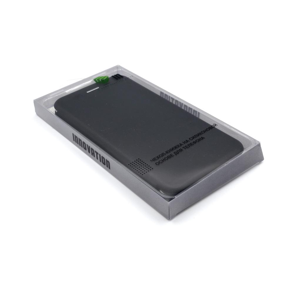 Чехол  Innovation для Xiaomi Redmi Note 8 Pro Book Black