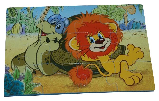 Пазл Десятое королевство Львенок и черепаха 1400 12 элементов