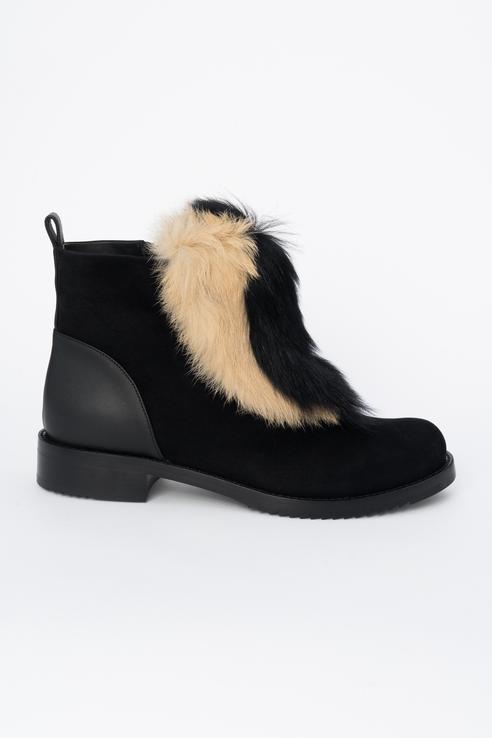 Ботинки женские Loriblu O0362 черные 36 RU