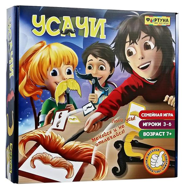 Купить Настольная игра Фортуна Усачи Ф77076, Семейные настольные игры
