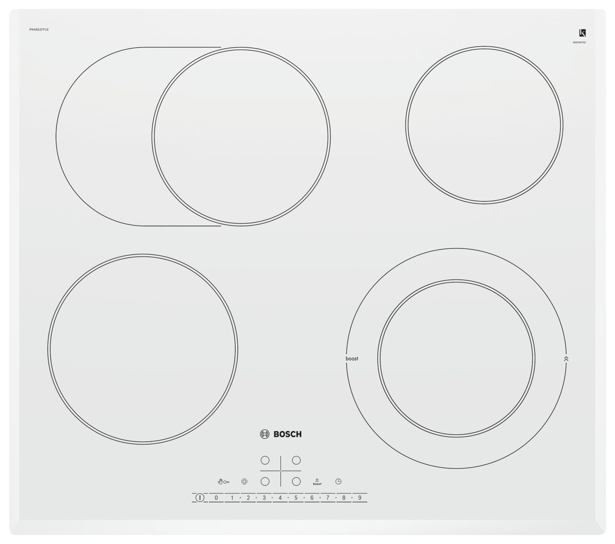 Встраиваемая варочная панель электрическая Bosch PKN