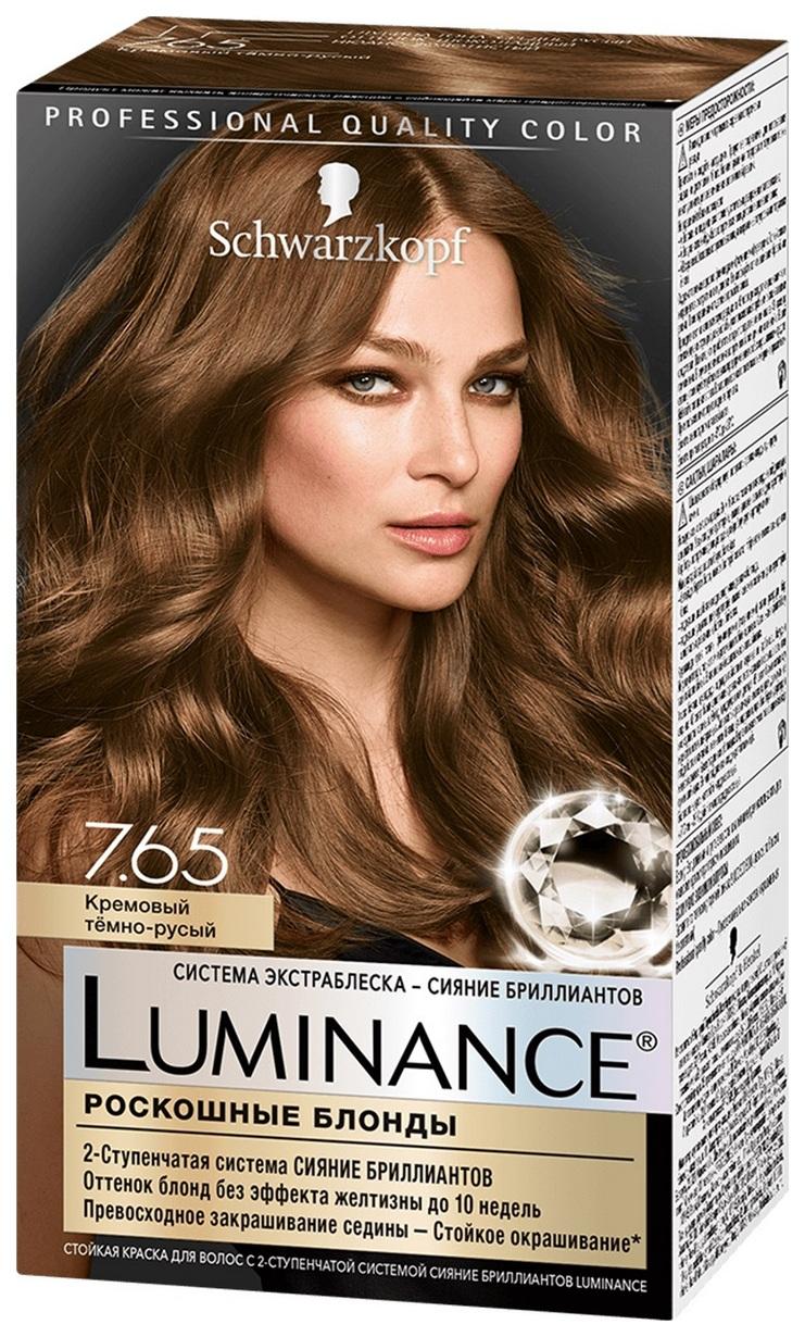 Краска для волос Schwarzkopf Luminance Color 7.65 Кремовый темно-русый 60 мл