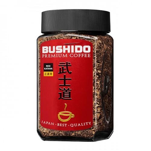 Кофе растворимый Bushido рэд катана 50 г фото