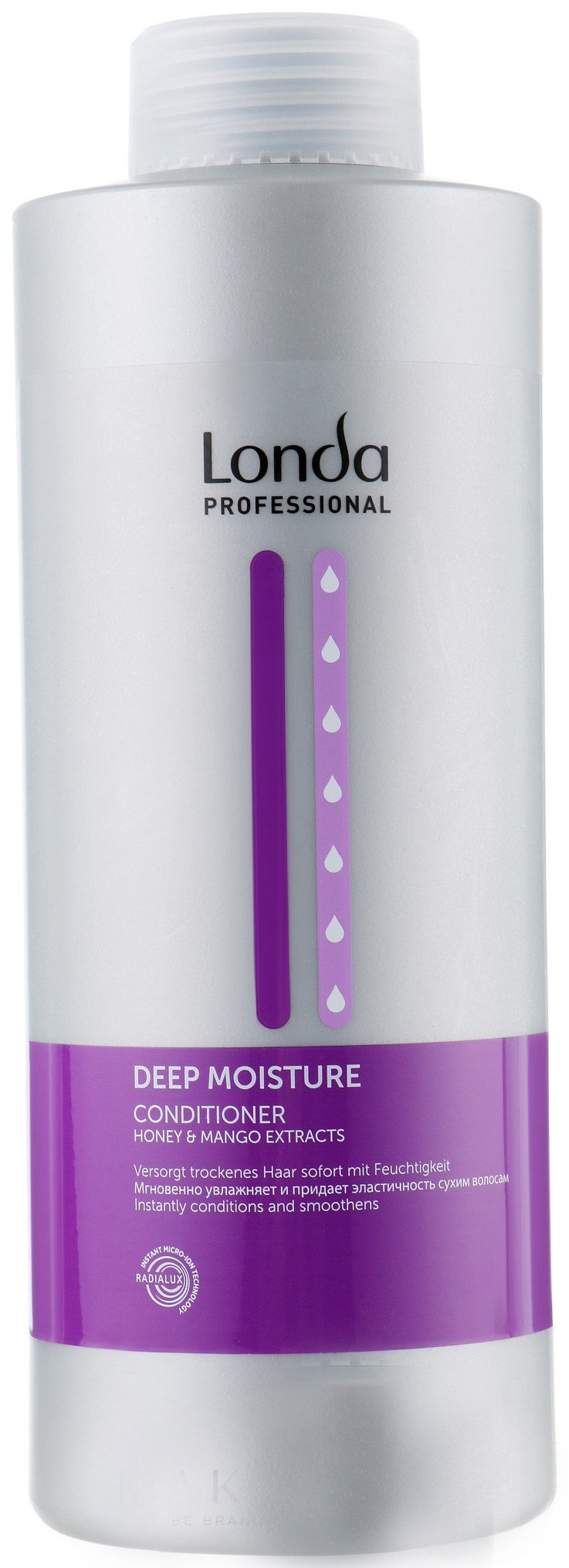 Купить Кондиционер для волос Londa Deep Moisture Conditioner 1000 мл, Londa Professional