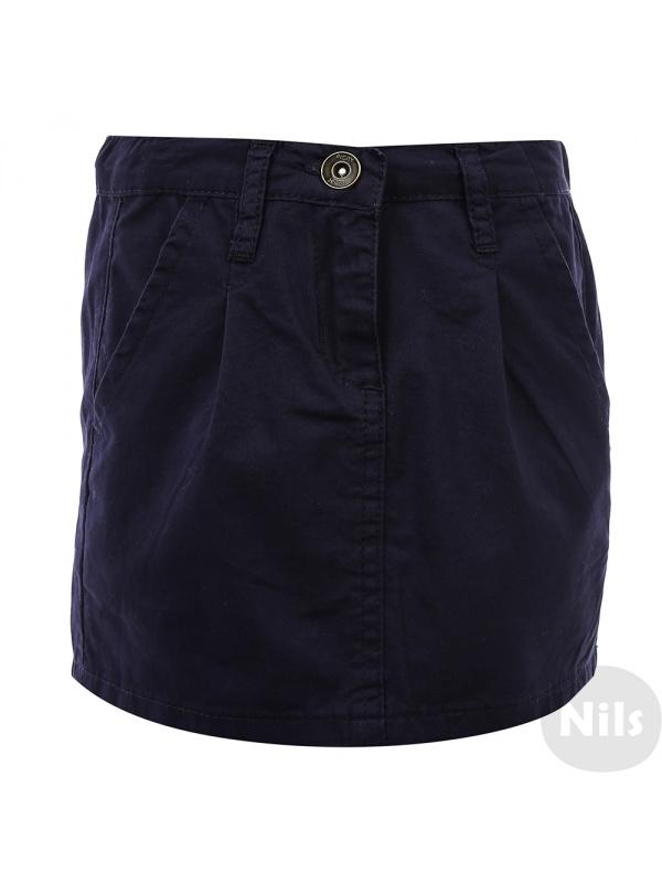 Купить 2029005920395, Юбка INCITY KIDS темно-синий р.110, Юбки для девочек
