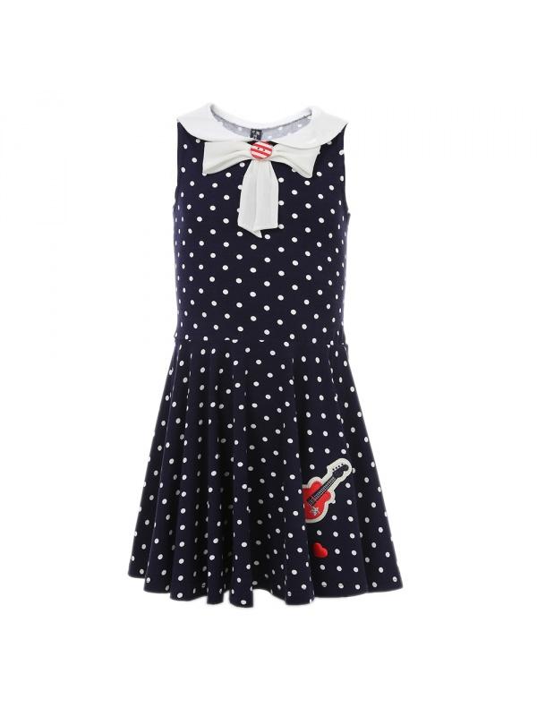 Платье Маленькая Леди темно-синий р.116