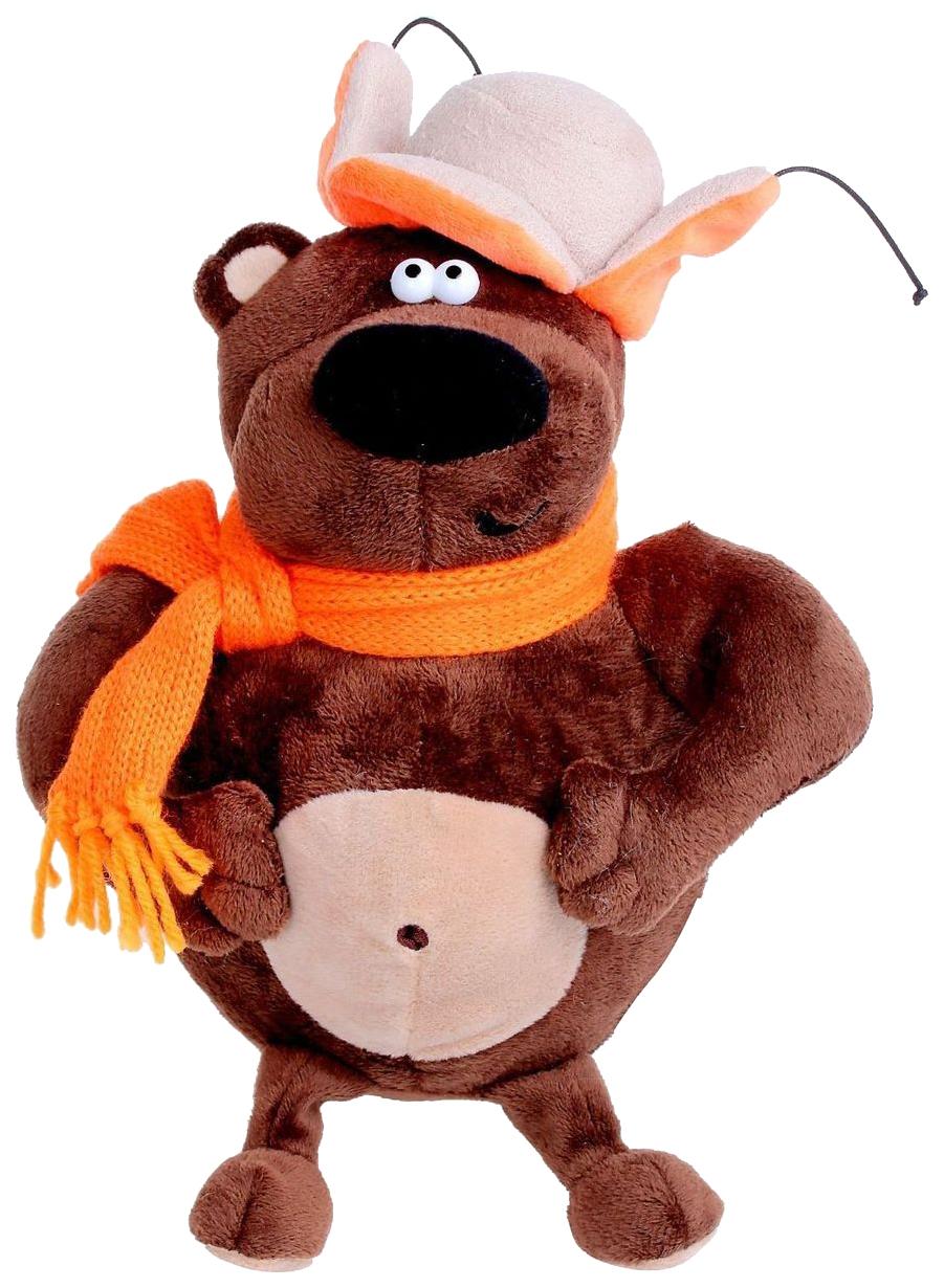 Купить Мягкая игрушка медведь ДуRашки Просто Medved 25 см, Мягкие игрушки животные