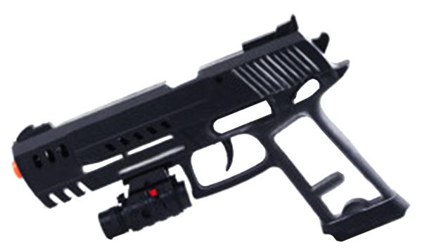 Купить Огнестрельное игрушечное оружие Shenzhen Toys Пистолет с лазерным прицелом 21 см,