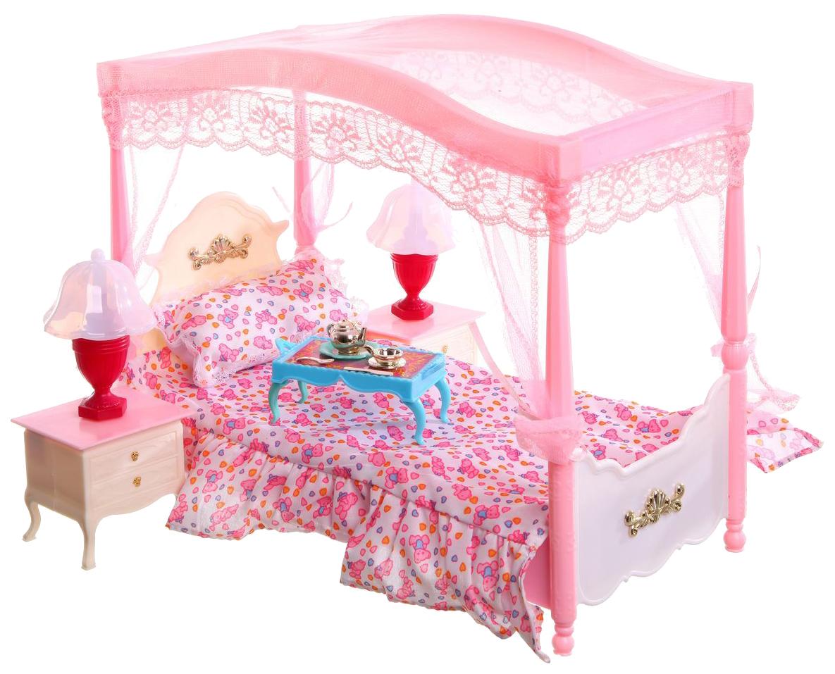 Набор кукольной мебели Gloria для спальни My Fancy Life - Конструктор (свет), Gloria Toys, Игровые наборы  - купить со скидкой