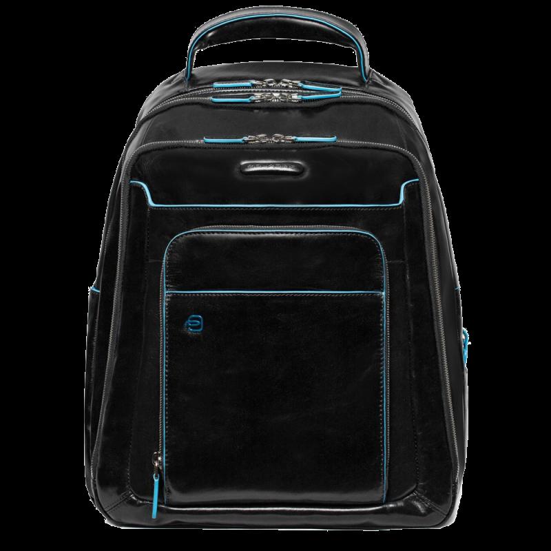 Рюкзак кожаный Piquadro B-Square кожаный черный