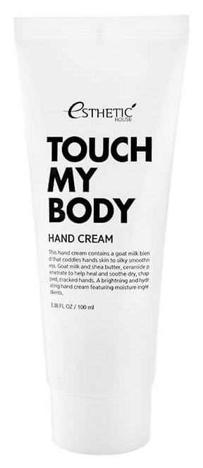 Крем для рук Esthetic House Touch My Body Goat Milk Hand Cream 100 мл