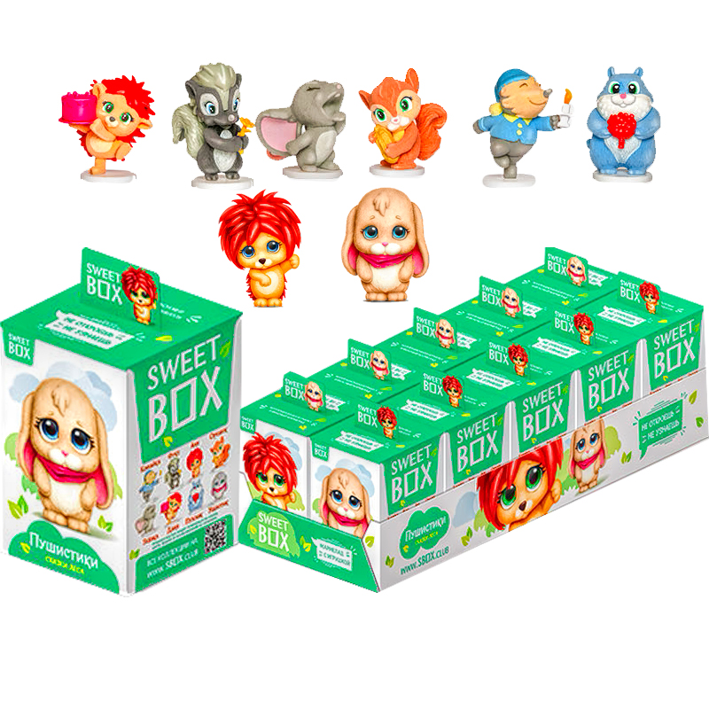 Мармелад Sweet Box сказки леса 10 г 10 штук