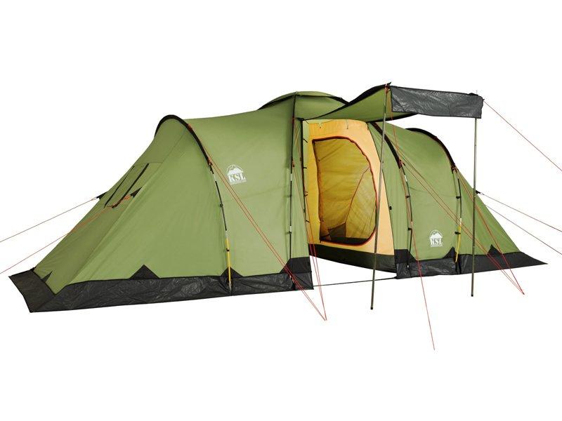 Палатка KSL Macon шестиместная зеленая