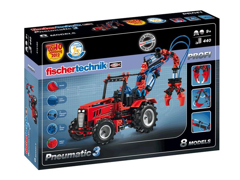 Купить Конструктор пластиковый Fischertechnik Pneumatic 3,
