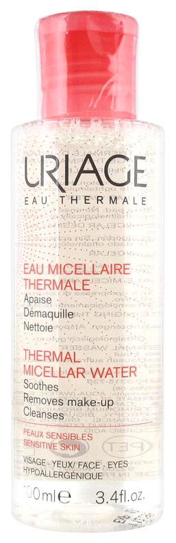 Мицеллярная вода Uriage Thermal Micellar Water очищающая