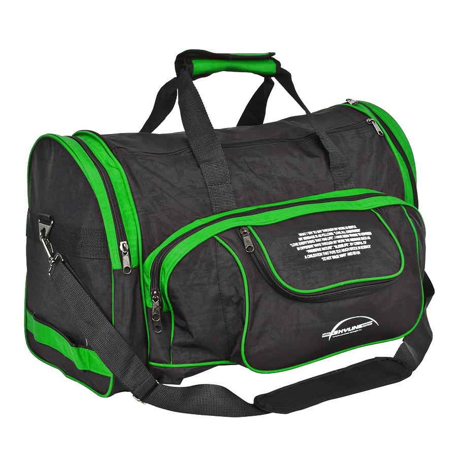 Спортивная сумка Polar 6066с зеленая