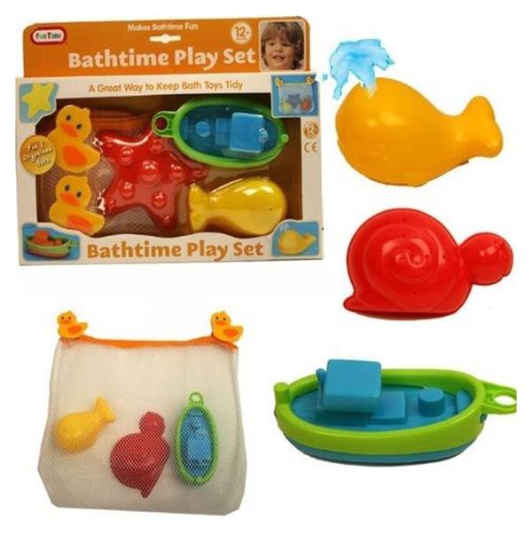 Купить Игрушки для купания Fun Time Лодка морская звезда кит 5027