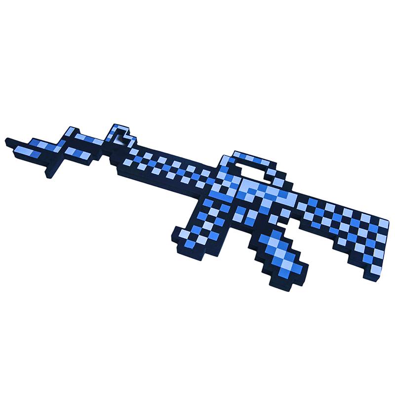 Автомат игрушечный Minecraft М16 8Бит пиксельный