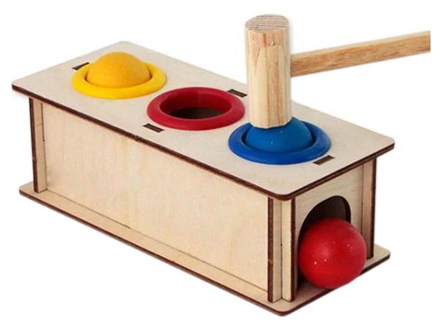 Деревянная игрушка Woodland Стучалка