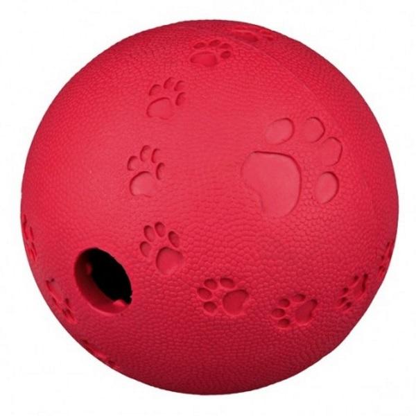 Мяч резиновый для лакомства Trixie, диаметр 6 см
