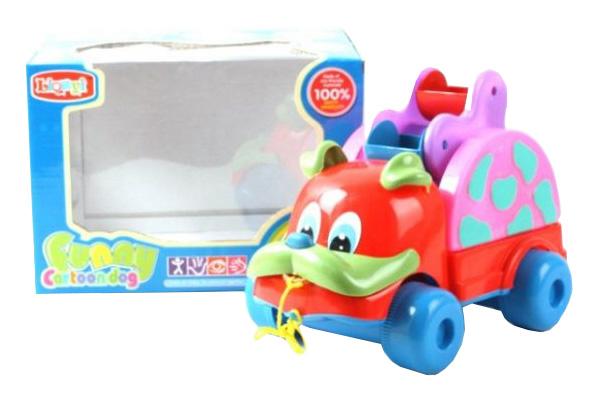 Развивающая игрушка Наша Игрушка Барбосик на веревочке фото