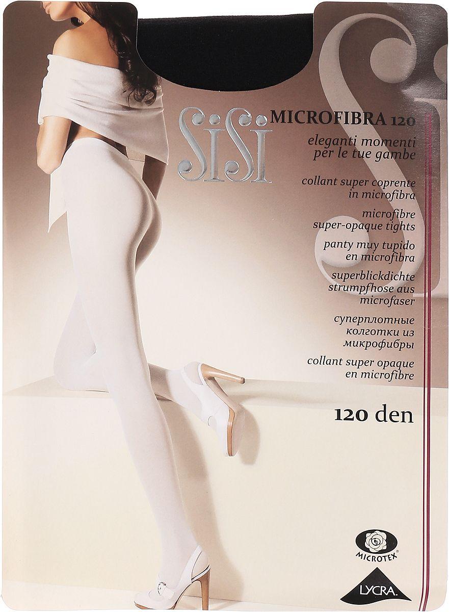 Колготки SiSi MICROFIBRA 120 / Nero (Черный) / 3 (M) фото