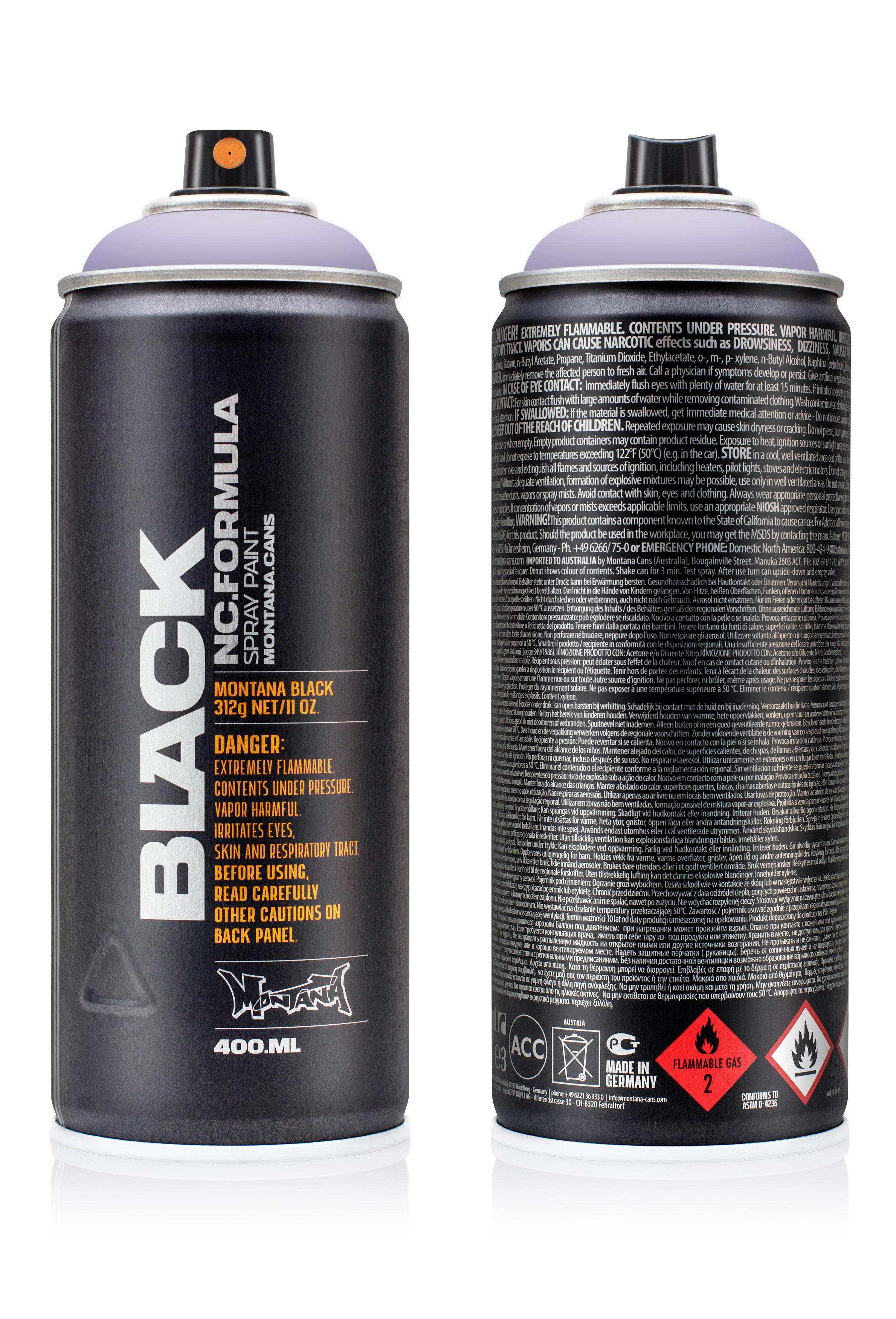 Аэрозольная краска Montana Black Lavender 400 мл