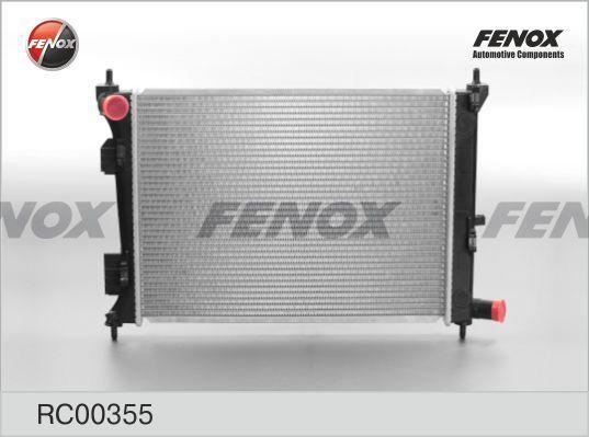 Радиатор охлаждения двигателя FENOX RC00355 фото