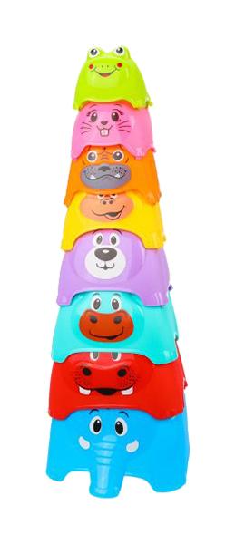 Развивающая игрушка Наша Игрушка Пирамидка детская 618-21 в ассортименте фото