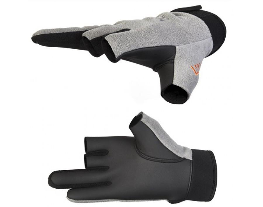 Перчатки мужские Norfin Argo, серые/черные, L