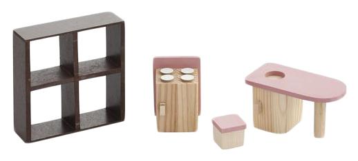 Купить Набор мебели для мини-кукол – Кухня PAREMO PDA517-02, Мебель для кукол