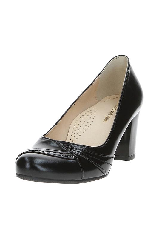 Туфли женские Shoobootique 689-6015-CZ17-CZLAK-TN черные 40 фото