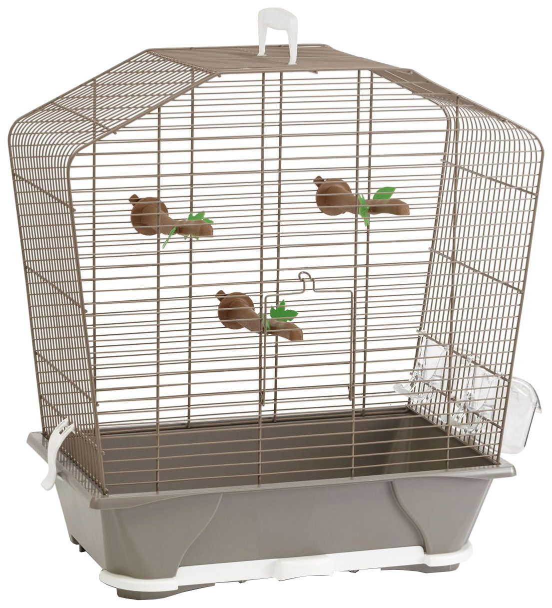 Клетка для птиц Savic Camille 30, бежевая,