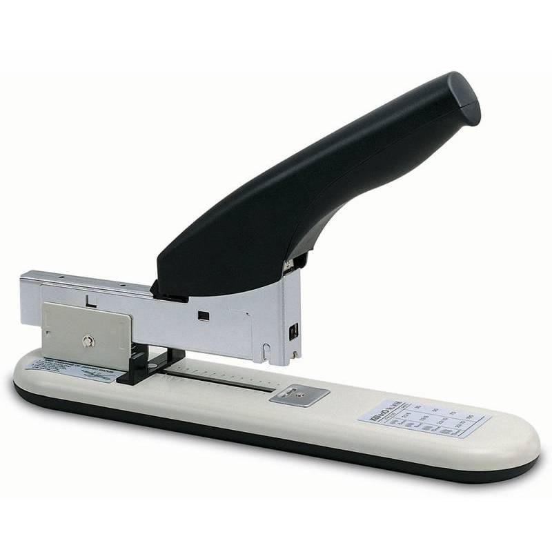 Купить Степлер KW-trio мощный №23/6 - 23/13, на 100 листов, серый/черный, -50-SB, Степлеры и ножницы