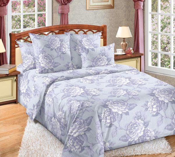 Комплект постельного белья 2 спальный с европростыней Мира, бязь