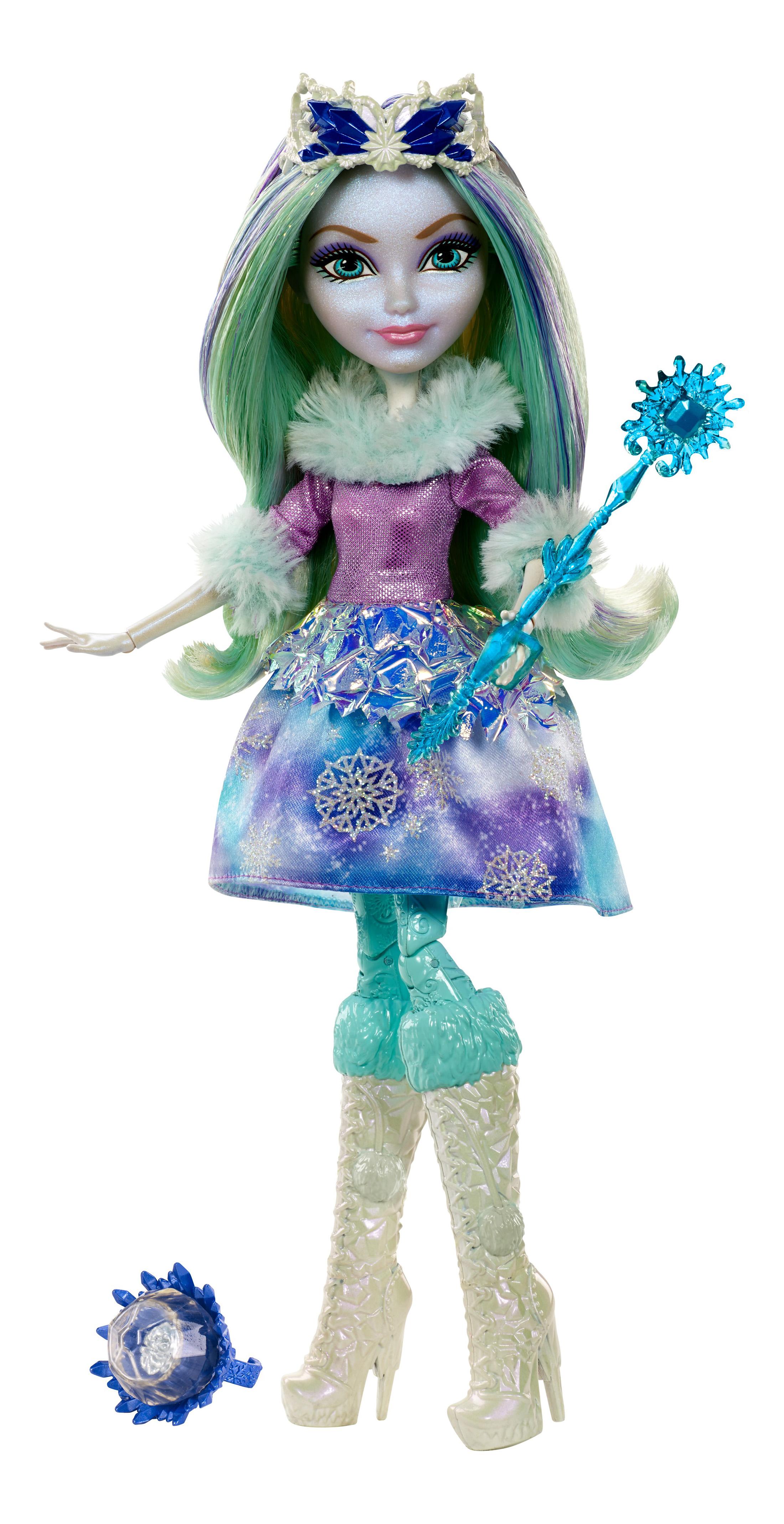 Купить Кукла Ever After High Кристал Финтер из коллекции Заколдованная зима, Куклы