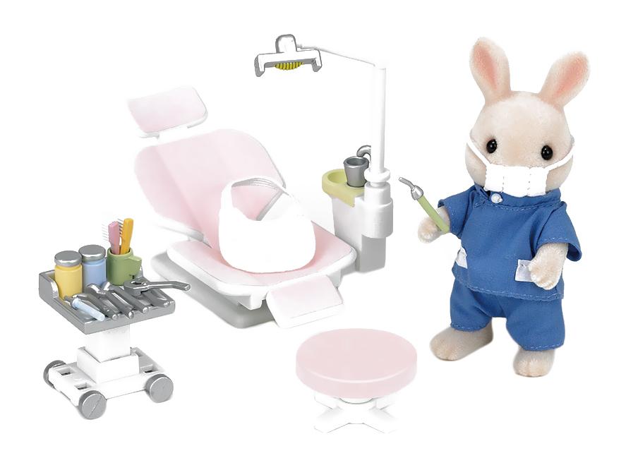 Игровой набор sylvanian families кролик-стоматолог фото