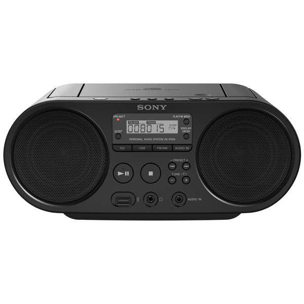 Магнитола Sony ZS PS50/BС Черный
