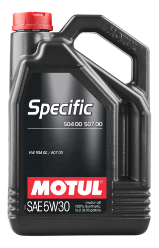 Моторное масло Motul Specific 504 00 / 507 00 5w-30 5л