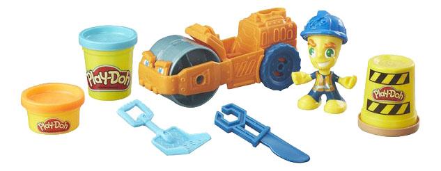 Купить Пластилин Hasbro Play-Doh Play-Doh B6282 Паровой каток, Лепка