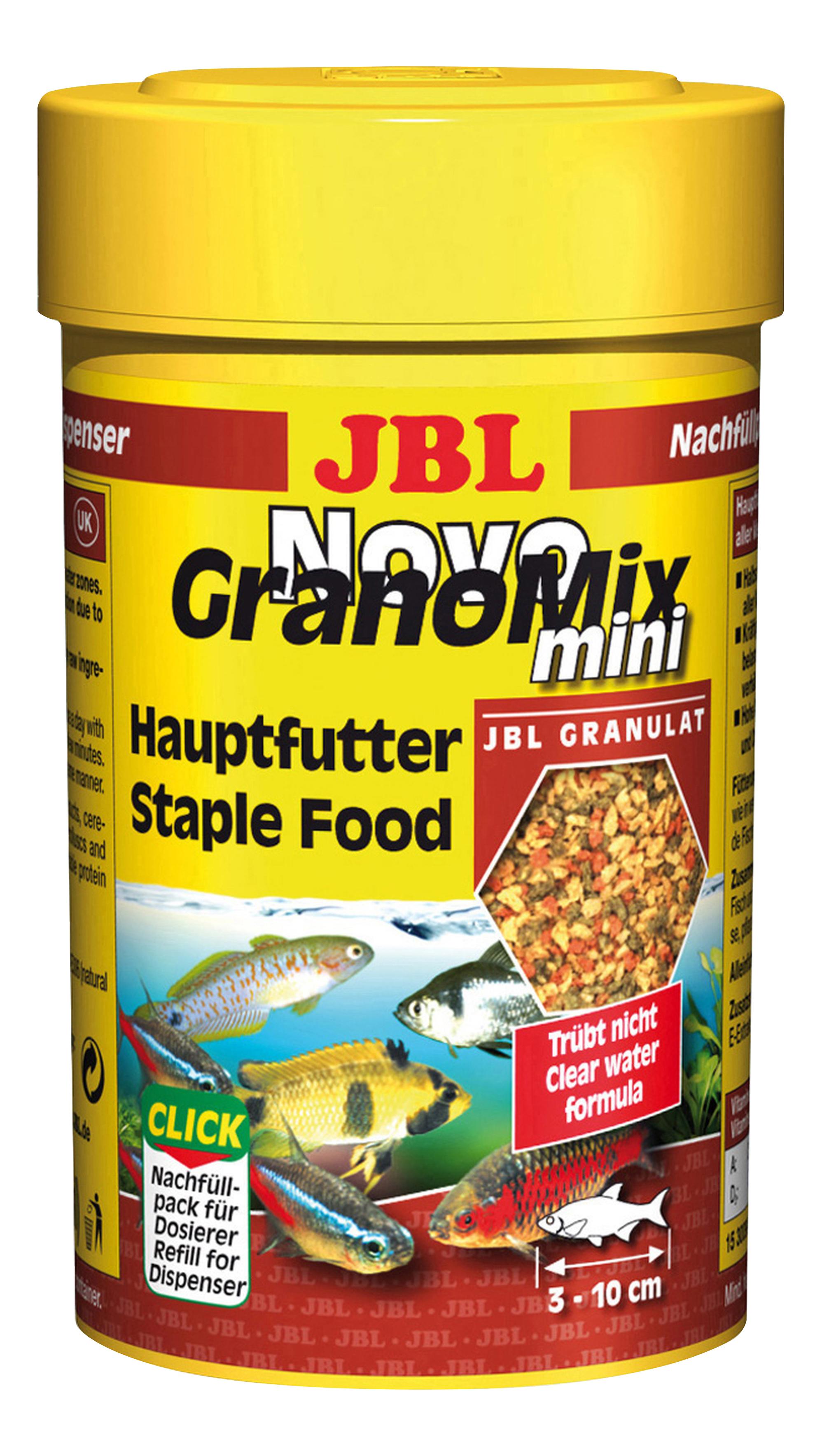 Корм для маленьких рыб JBL NovoGranoMix mini