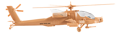 Модели для сборки Zvezda Американский Вертолет Апач Ан-64 7408 1:144 фото