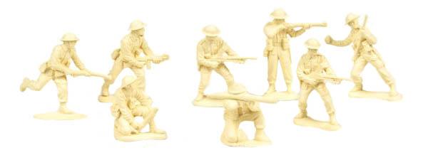 Игровой набор Солдатики Биплант Британская Пехота фото