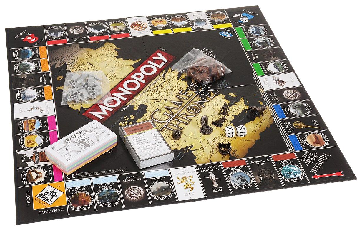 Купить Монополия Игра Престолов, Настольная игра Winning Moves Монополия игра Престолов B61231210, Экономические настольные игры